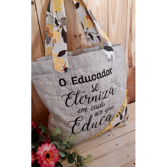 Ecobag Dia do Professor